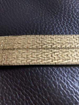 Złote bransoletki kremowy