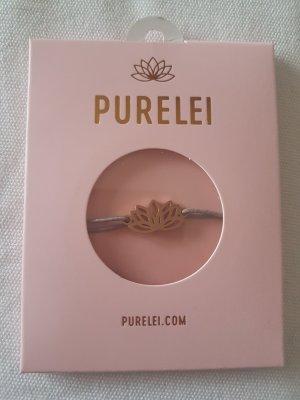 Bracelet rose-gold-coloured-grey