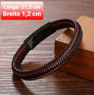 Armband aus geflochtenes Leder
