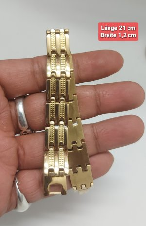 Armband aus Goldfarbener Chirurgenstahl