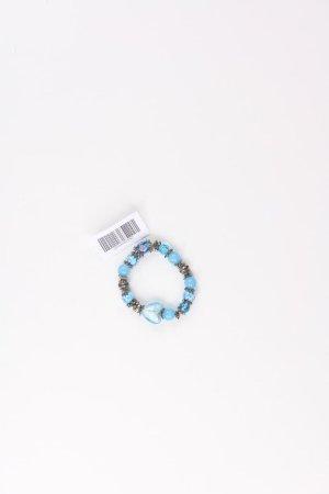 Armband blauw-neon blauw-donkerblauw-azuur