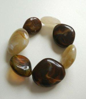 Bracelet multicolore tissu mixte