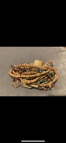 Pearl Bracelet brown-red