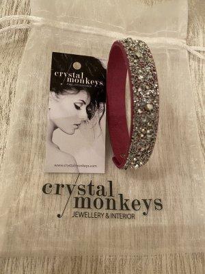Armband Crystals Monkeys mit Crystals from Swarovski neu ohne Etikett
