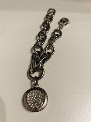 DKNY Charm Bracelet light grey-silver-colored
