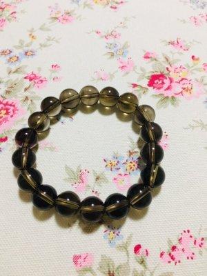 Pearl Bracelet taupe-grey brown