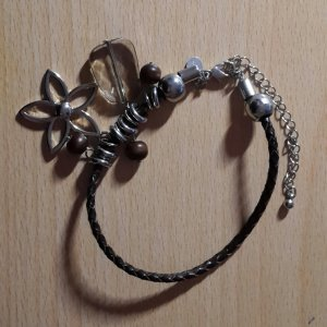 Armband donkerbruin