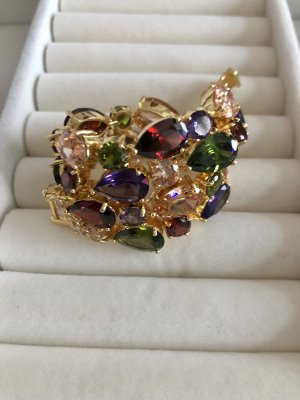 Gold Bracelet multicolored