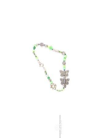 Bracelet vert-vert fluo-vert menthe-vert prairie-vert gazon-vert forêt