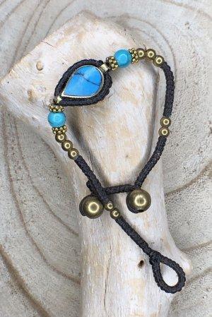 Handmade Braccialetto sottile multicolore Cotone