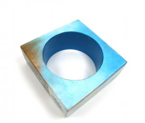 Armband handbemalte Buche (Serviettentechnik) NEU