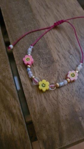 handmade with love Armband met parels veelkleurig