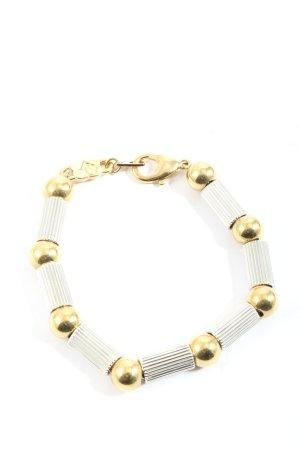 Armband hellgrau-goldfarben Casual-Look