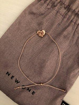 New One Bracelet rose-gold-coloured