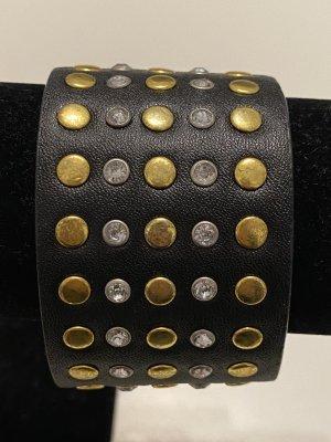 Lederen armband veelkleurig