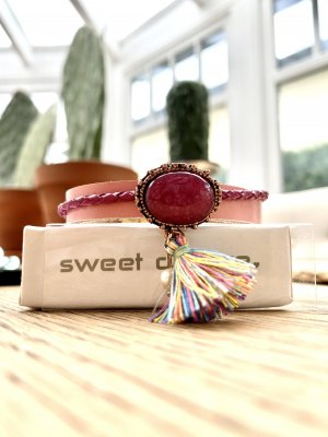 Armband in pink von sweet Deluxe