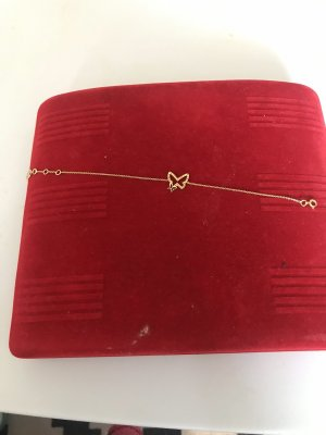 Bracelet en or orange doré