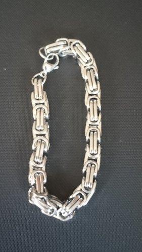 Naszyjnik z perłami srebrny