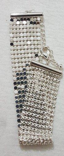 Vintage Pulsera color plata