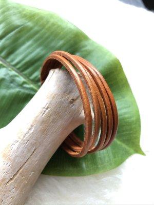 unbranded Bracelet en cuir rouille cuir