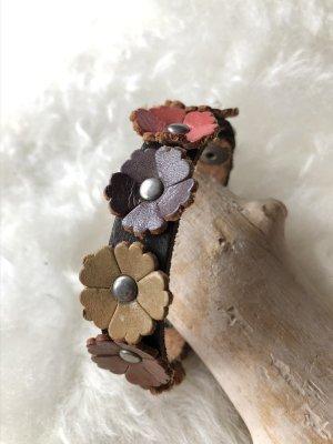 Handmade Braccialetto di cuoio multicolore Pelle