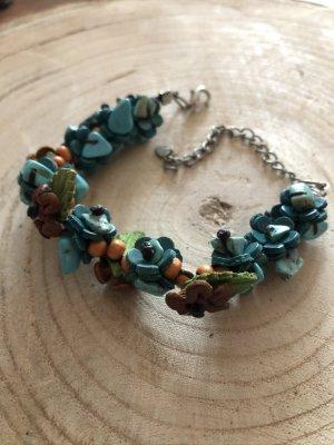 Leather Bracelet turquoise