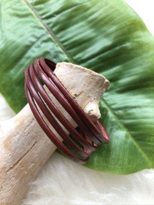 unbranded Bracelet en cuir brun cuir