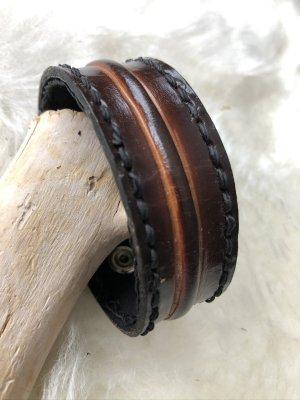 handmade Bracelet en cuir multicolore cuir