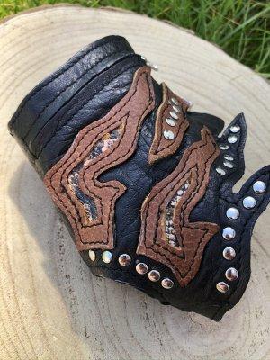 Leather Bracelet multicolored leather