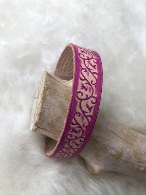 unbranded Bracelet en cuir multicolore cuir