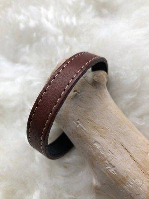 Handmade Braccialetto di cuoio marrone Pelle