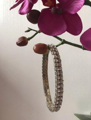 Bracelet en argent argenté-blanc métal