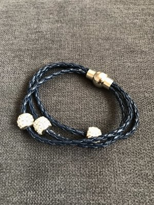 H&M Armband zilver-donkerblauw