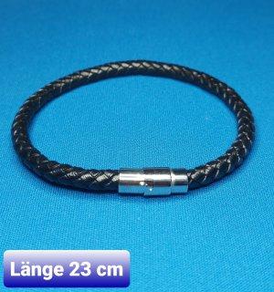 Armband mit Magnet- Schwarz