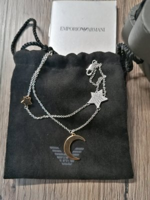 Emporio Armani Silver Bracelet light grey