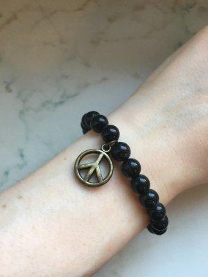 Armband mit Peace Anhänger