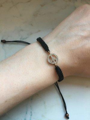 Brandy & Melville Bracelet black-silver-colored