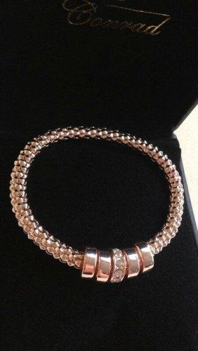 Armband mit Swarovski®-Kristallen in Roségold NEU!