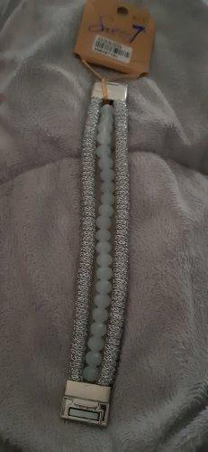 Sweet Deal Pulsera blanco-color plata