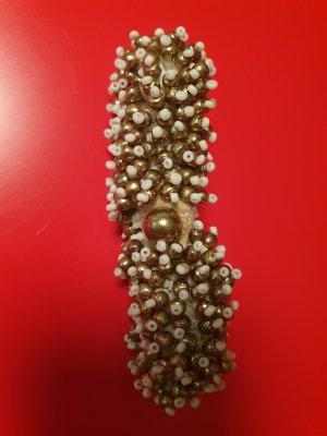Bracelet white-gold-colored