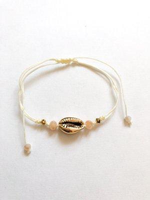 Armband Muschel & Perlen