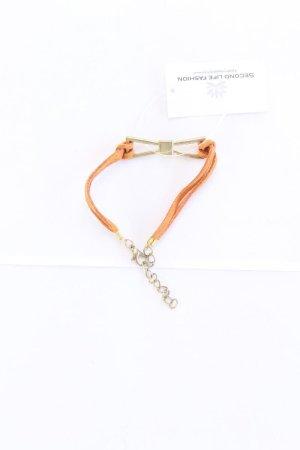 Bracelet orange doré-orange clair-orange-orange fluo-orange foncé
