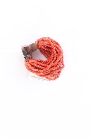 Bracelet gold orange-light orange-orange-neon orange-dark orange