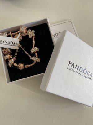 Pandora Braccialetto sottile color oro rosa