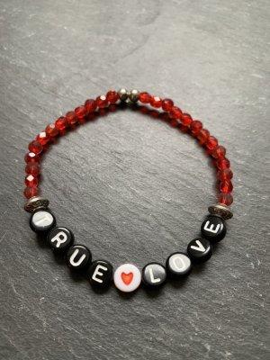 "Armband, Perlenarmband ""True Love"""