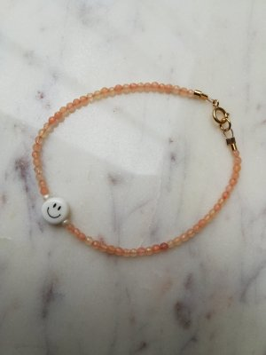 Armband wit-rosé