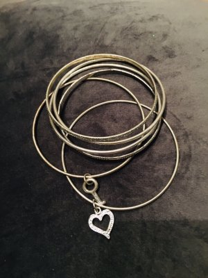 Zara Pulsera color plata