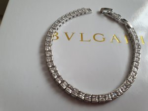 .12 puntododici Braccialetto sottile bianco-argento