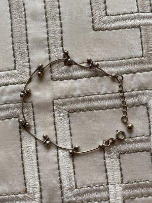 Zilveren armband lichtgrijs-zilver