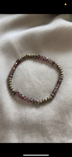 Armband silber/lila